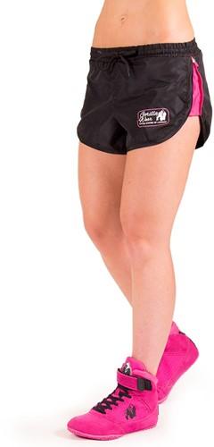 Gorilla Wear Women's New Mexico Cardio Shorts Zwart/Roze