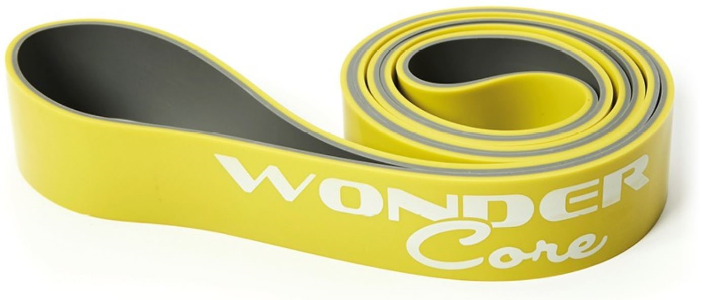 Wonder Core Pull Up Band - Geel - 4,4 cm